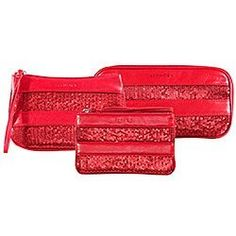 sephora Sequined Cosmetic Red zipped-open bag Medium 1pc by Sephora. $18.00