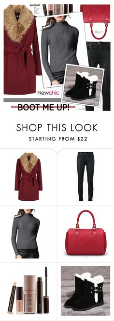 """""""Newchic 16"""" by cly88 ❤ liked on Polyvore featuring New Look, Yves Saint Laurent and Laura Mercier"""