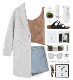 """""""lost in the moment"""" by martosaur ❤ liked on Polyvore featuring River Island, Royal & Langnickel, Dot & Bo, Le Ciel Bleu, Dogeared, Kikkerland, Iosselliani, Aesop and Oskia"""