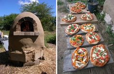 navod pec na chlieb pizzu 8 Pizza Rustica, Rustic Ovens, Bbq Bar, Diy Pizza Oven, Mexican Food Recipes, Ethnic Recipes, Barbacoa, Four, Permaculture