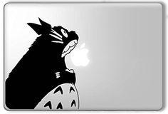 Totoro Eating Apple My Neighbor Totoro - Apple Macbook Laptop Vinyl Sticker Decal Decalology Designs http://www.amazon.com/dp/B00X51F7Q8/ref=cm_sw_r_pi_dp_Bo0Mwb08YZQ2K