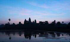 Angkor Wat von hinten