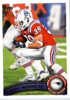 2011 Topps Football Card #231 Danny Woodhead - New England Patriots - NFL Trading Card by Topps. $1.89. 2011 Topps Football Card #231 Danny Woodhead - New England Patriots - NFL Trading Card