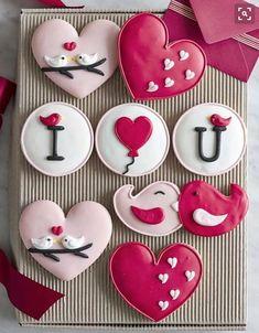 Die 64 Besten Bilder Von Kekse Valentinstag Decorated Cookies