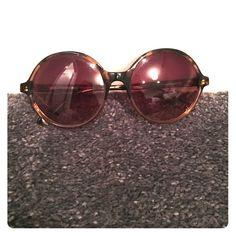 Diane Von Furtsenberg sunglasses lightly used dvf trendy circle sunglasses Diane von Furstenberg Accessories Sunglasses