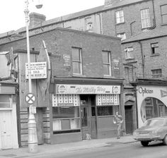 The Milky Way, Harcourt Street, Dublin - how many times I sat on the 44 bus as it went past this place and Steins opticians with the lens window. Ireland Pictures, Images Of Ireland, Old Pictures, Old Photos, Gone Days, Dublin City, Dublin Ireland, England Uk, British Isles
