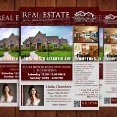 Real Estate Listing Flyer Template Community Property Listing - Real estate listing template word