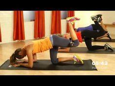10 Minute Pilates Butt Workout   Celebrity Fitness   Class FitSugar