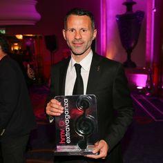 Ryan Giggs honoured at HMV Football Extravaganza