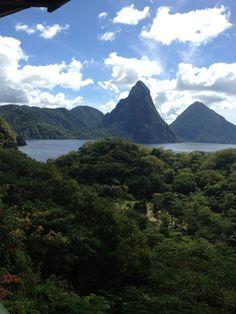 Iconic pitons- Saint Lucia