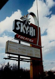 The Sky-Hi Drive-In was located at 3110 (old) Highway 63, Columbia, Mo. With a capacity of 700 cars and a playground in front of the 105'x 50' screen, the fare ranged from westerns to horror to sci-fi.  Opened in 1965 and closed in 1985 it was demolished around 1990. It featured an enormous air conditioned snack bar.