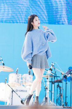 Top 3 Stylish Sweaters of the Season - CodiPOP - Chunky Sweater – IU The Effective Pictures We Offer You About winter outfits A quality picture c - Stage Outfits, Kpop Outfits, Korean Outfits, Cute Outfits, Casual Outfits, Korean Fashion Kpop, Kpop Fashion, Fashion Outfits, Kpop Mode