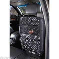 Cruising-Companion-Dog-Pet-Car-Seat-Organizer-Black-White-Skull-Cross-Bones