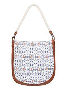 Roxy Awesome Weave Shoulder Handbag Purse Modern Geo Sand Piper One Size ** For more information, visit image link.