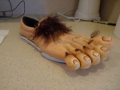 Want to be a Hobbit for Halloween? Here's how to make awesome Hobbit feet!