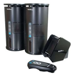 C2G / Cables to Go Audio Unlimited Premium 900MHz Wireless Indoor/Outdoor 2 Speaker System with Remote and Dual Power Transmitter, Black (SPK-VELO-003) - http://www.audiovideocabledeals.com/home-theater/home-theater-wireless-speakers-free-shipping-on-wireless-speakers/c2g-cables-to-go-audio-unlimited-premium-900mhz-wireless-indooroutdoor-2-speaker-system-with-remote-and-dual-power-transmitter-black-spk-velo-003/