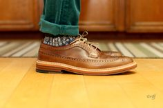 Great soles on these wingtips.