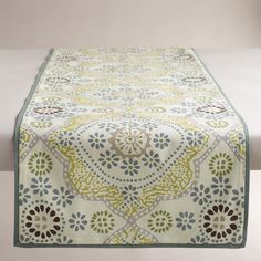 Mosaic Tile Table Runner >> #WorldMarket Dining Room, Entertaining, Home Decor, Tips