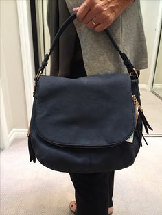 Have been searching forEVER for a casual, dark blue ~ blue jeansie sort of purse. Love Love!! Moda Luxe Brooks Crossbody Bag