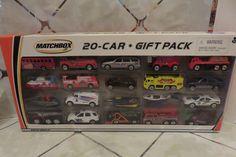 Rare 2002 Matchbox 20 Car Gift Pack New in Pkg. Firetrucks, Police, Dump Truck #Matchbox #Assorted