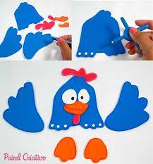 Resultado de imagem para caderno da galinha pintadinha em eva