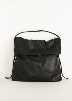 Rick Owens Hobo Shoulder Bag in Black