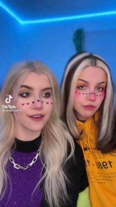 Cool Makeup Looks, Creative Makeup Looks, Crazy Makeup, Cute Makeup, Makeup Art, Monster High Makeup, Cute White Guys, Amazing Halloween Makeup, Cute Babies Photography