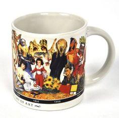 #Coffee #Mug: Brief History Of Art $13.00