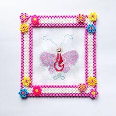 Frame hama perler beads by coriander_dk