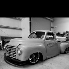 Bagged Studebaker Truck