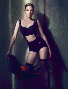 #ScarlettJohansson #fashion