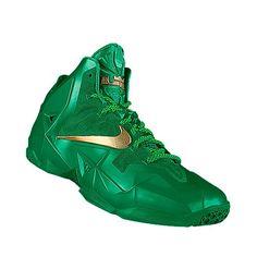I designed the green Charlotte 49ers Nike men's basketball shoe.