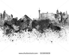 Las Vegas Skyline Stock Photos, Royalty-Free Images & Vectors ...