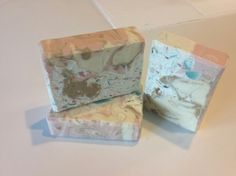 Herbal clay soap