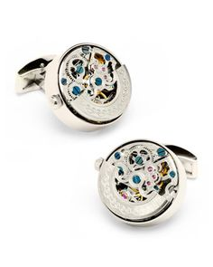 Vintage Watch Cuff Links by Cufflinks Inc. at Neiman Marcus.