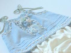Photography Prop Newborn Dress Set. Newborn Baby Blue Dress. verityisabelle.com