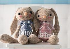 Long Eared Crochet Bunny – Free pattern | 8 Trends