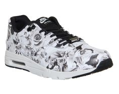 Nike Air Max 1 Ultra Moire (l) Lotc Black White Floral Nyc Qs - Hers trainers