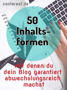 Es muss nicht immer der Standard sein. Mit diesen Content Formaten kommst du auf Ideen! Warum nicht Abwechslung in den Blogtrott bringen?