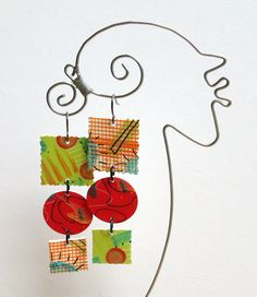 Carman M  Earrings by droolworthy on Etsy, $16.00