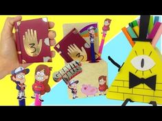 Gravity Falls:4 manualidades fáciles y originales - YouTube