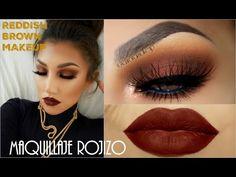 MAQUILLAJE PARA MI BODA ! Neutral + Lipstick Rojo ! - YouTube