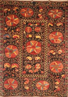 Suzani rug from Afghnistan