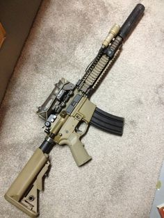 Mk 18 with Elcan sight*Not mine*