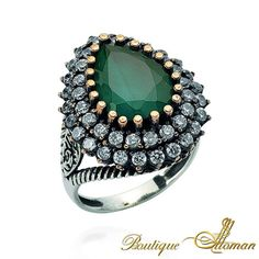 New Hurrem Ring by Boutique Ottoman - Luxury Ottoman Jewelry