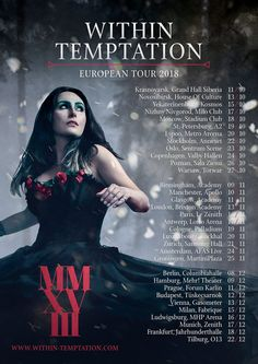 Within Temptation Tour 2018