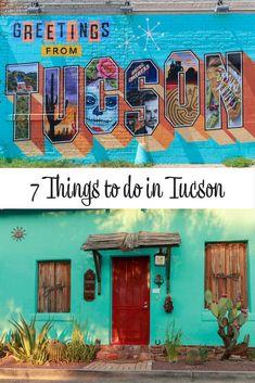 7 things to do in Tucson Arizona (USA). Tucson things to do: Arizona-Sonora Desert Museum   Barrio Viejo   Pima Air & Space Museum   Saguaro National Park   Tucson Botanical Garden   Mission San Xavier del Bac   Murals. #AnythingElse