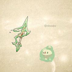 No. 578 - Duosion. #pokemon #duosion #dagger #pokeapon