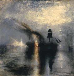 Joseph Mallord William Turner - Peace-Burial at Sea
