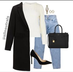 Classy Outfits, Chic Outfits, Trendy Outfits, Fall Outfits, Fashion Outfits, Work Casual, Casual Fridays, Fashion Line, Polyvore Outfits